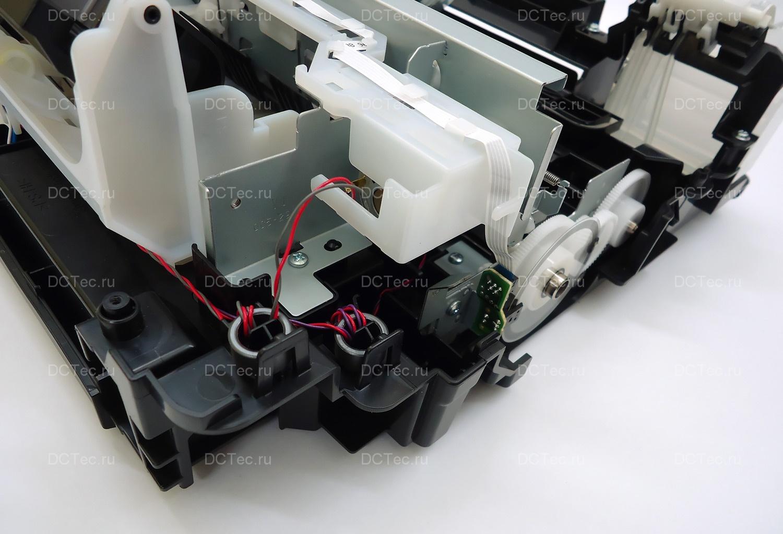 схема разборки принтера canon